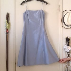 Ann Taylor blue Silk Dress
