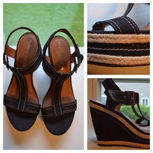 Franco Sarto Shoes - 💇REDUCED AGAIN💇Brown Wedge