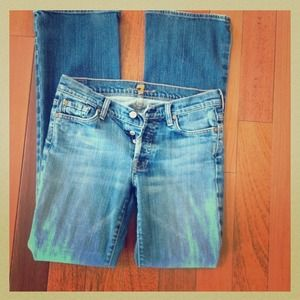 7 for all mankind jeans! Boycut