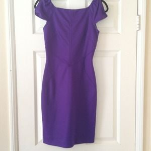 New DVF ponte dress. Size 2. New with tags.