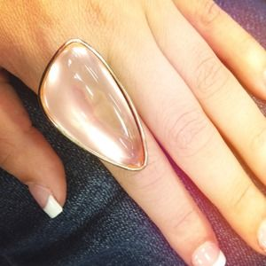 Jewelry - Mega Peach Stone Ring