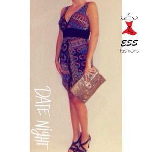 Dresses & Skirts - Beautiful printed dress!