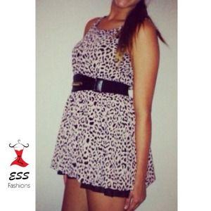 Dresses & Skirts - NWOT Gorgeous chiffon dress!!