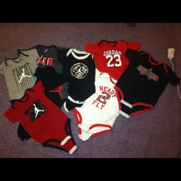 Baby Boy Jordan Clothes Stunning Jordan Shirts Tops Baby Boy Onesies Poshmark