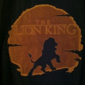 💥RESERVED💥 THE LION KING SUADE Crew Jacket