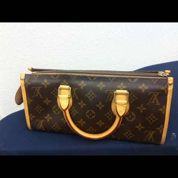 1937dd70c9 Auth Louis Vuitton popincourt PM bag