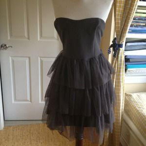 Poof Couture Dresses & Skirts - Gray Ballerina Tulle Dress