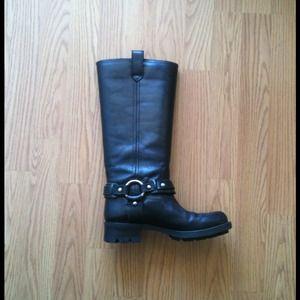 Authentic RALPH LAUREN Leather Boots