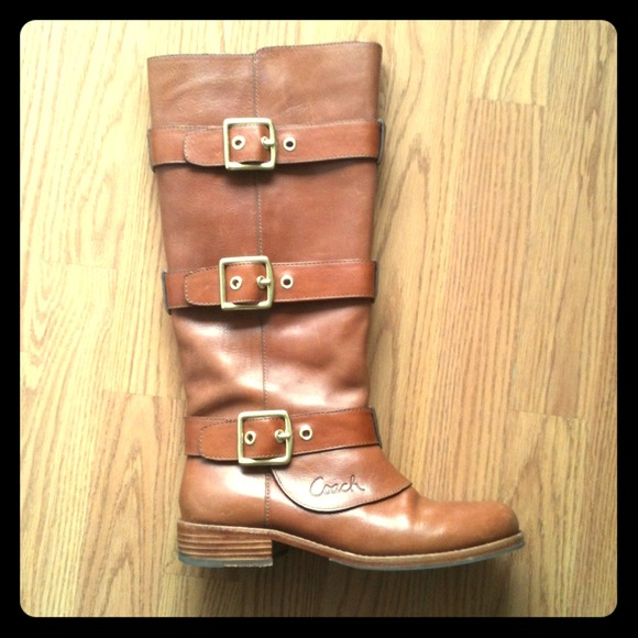 Coach Boots - Authentic COACH Leather Boots