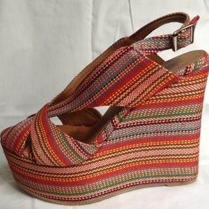 Jeffrey Campbell wedge.