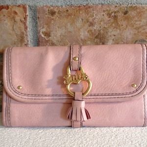 Used Authentic Juicy Couture leather wallet
