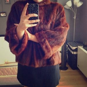 LOWERED! 👌Vintage fur jacket *REAL