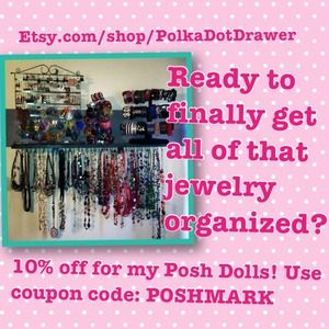 Other - 10% OFF MY ETSY SHOP! Etsy.com/shop/PolkaDotDrawer
