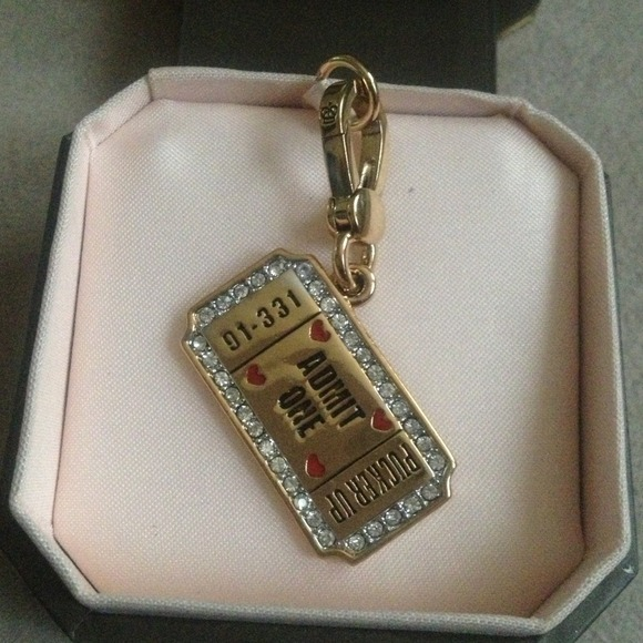 Juicy Couture Jewelry - Juicy couture charm🌟🌟🌟new low price🌟🌟🌟