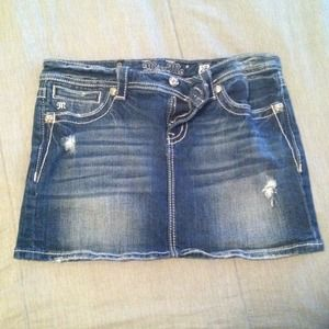 Miss Me Denim - Miss Me denim skirt
