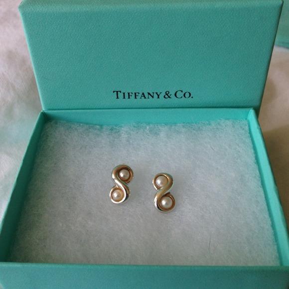98c872f9b Tiffany & Co. Jewelry | Tiffany Infinity Pearl Earrings | Poshmark