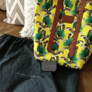 Proenza Schouler Handbags - Proenza Schouler yellow tote