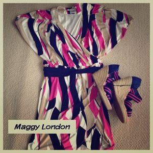 Maggy London patterned dress