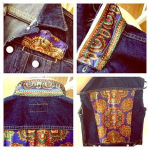 🚫SOLD🚫ONE OF A KIND Polo Denim Vest