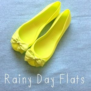J. Crew Shoes - SOLD 💗 J. Crew Rainy Day Flats