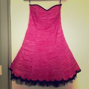 A line homecoming dress