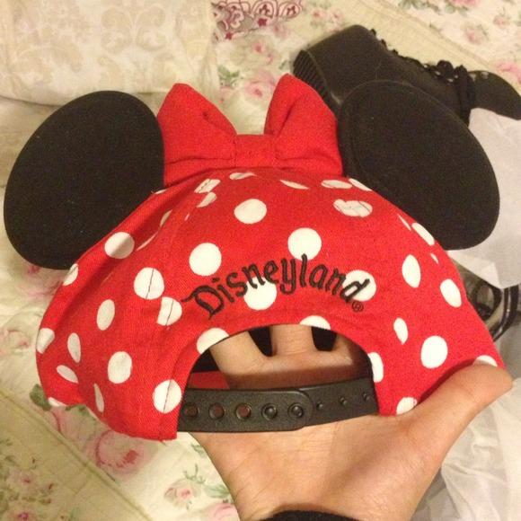 disney Accessories - Disneyland Minnie Mouse ears SnapBack hat