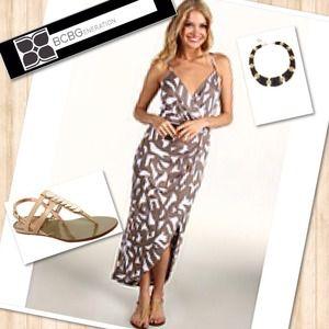 SOLD👗BCBG GENERATION Sexy Maxi Dress 👗