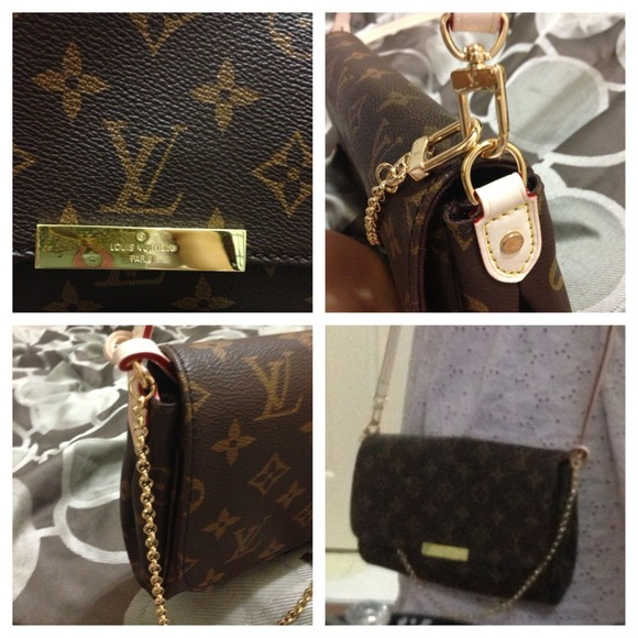 Louis Vuitton Bags   Lv Favorite Mm Inspired High Quality 100 Mirror ... ad8bd199bf