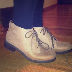 Booties from Rue21. NWOT