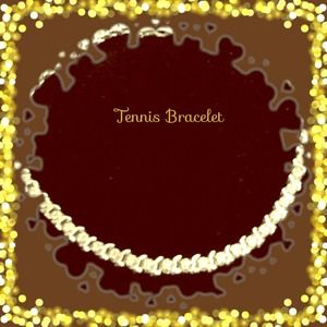 Jewelry - RESERVED FOR @venice1203🎀14K GOLD TENNIS BRACELET