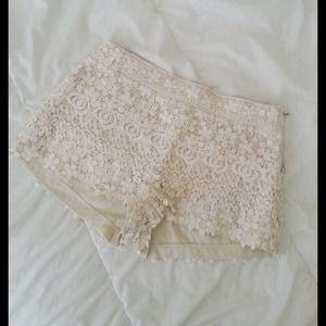 Zara Shorts - Zara Crochet Shorts
