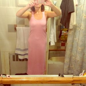 Dresses & Skirts - Worn once pink maxi dress