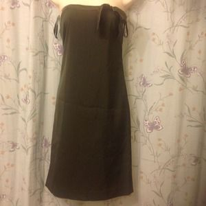 📛FINAL REDUCTION💚Brown strapless dress size 1