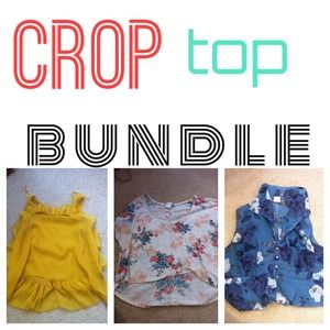Crop top bundle ✅BUNDLE FOR @gianna1011