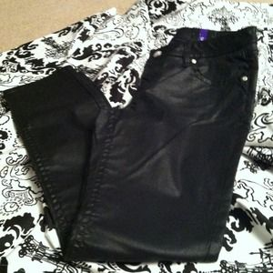 A.N.A Pants - Awesome leather LOOK skinny jeans. BNWT