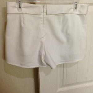 Zara Dresses - Zara White Wrap Mini Skort