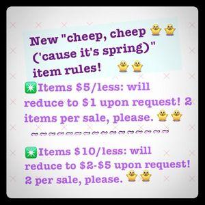 New rule! No bundle necessary!