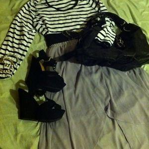 Dresses & Skirts - Lavender high low skirt
