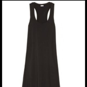 Black cotton maxi dress NWOT