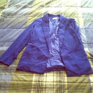 Bright blue blazer from Forever 21