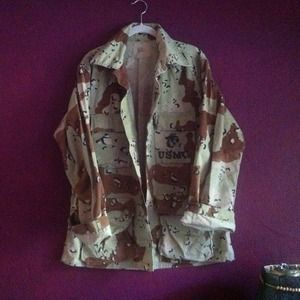 Vintage Active Duty Desert-Storm Jacket