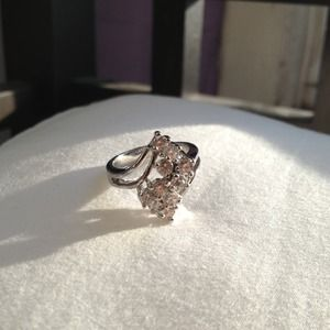 Jewelry - Silver and Cubic Zirconia Ring