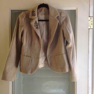 Old navy beige blazer