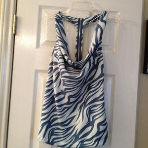 Zebra print summer top