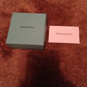 Tiffany & Co. Jewelry - Tiffany & Co box and Tiffany & co card