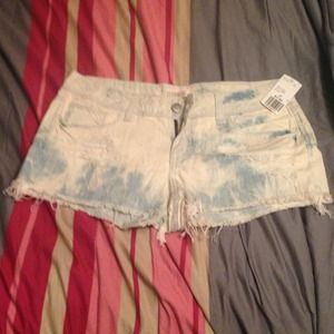 Forever 21 Destroyed Cutoff Shorts