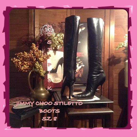 d8781c6dfbf0 Jimmy Choo Boots - FLASH SALE-SZ 8 JIMMY CHOO BOOTS 4