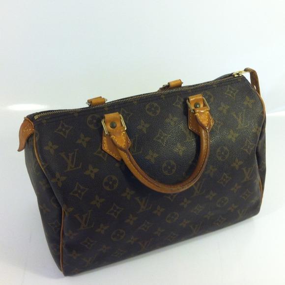 Handbags - VI1923 louis vuitton speedy 30 lv bag db6a0472e70f4