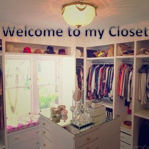 WELCOME TO MY CLOSET!!! Please read 