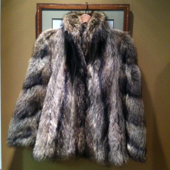 Strawbridge & Clothier - Vintage Raccoon Fur REDUCED or LETS TRADE ...